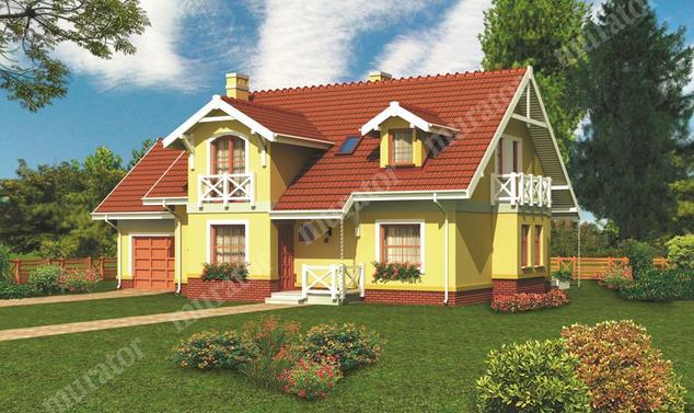 Projekt domu:  Murator C146   – Dom pod klucz